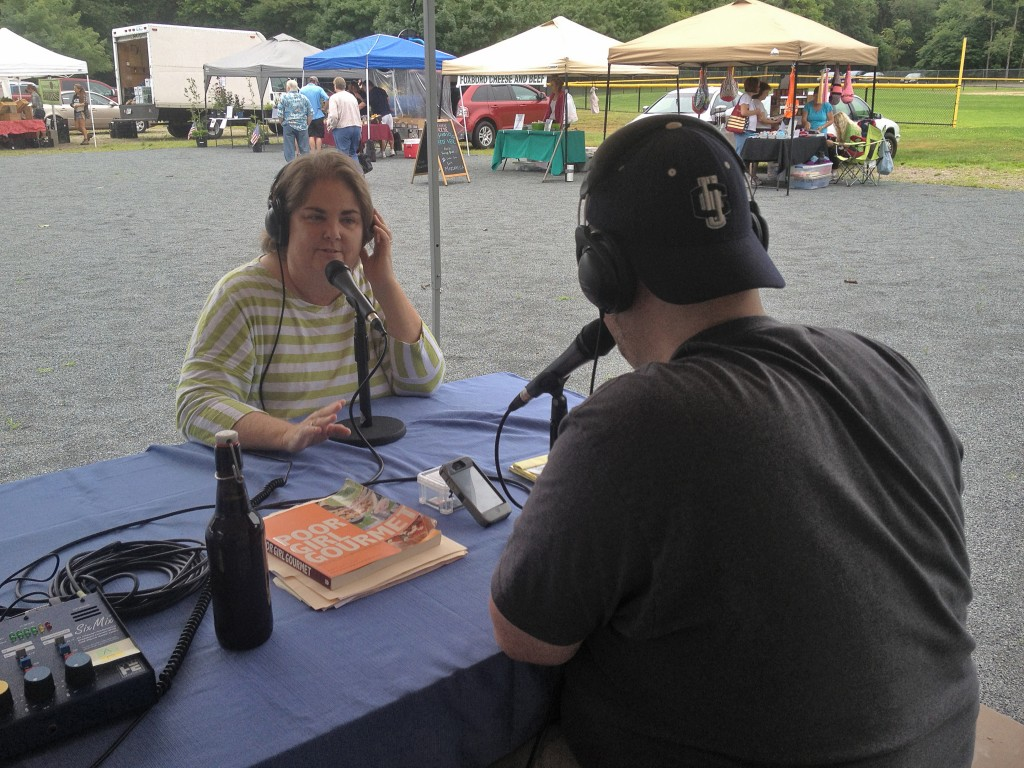 Mary Jordan from the Massachusetts Department of Agriculture Resource talks with Eddie Porreca host of the Attleboro Farmers Market Radio Hour.